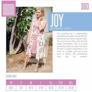 LuLaRoe Tops - Joy vest